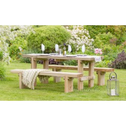 Elche Solidwood Garden set