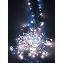 960 Ultra-Bright Cluster Warm White & Cool White LED Twinkle Lights - 12.4m