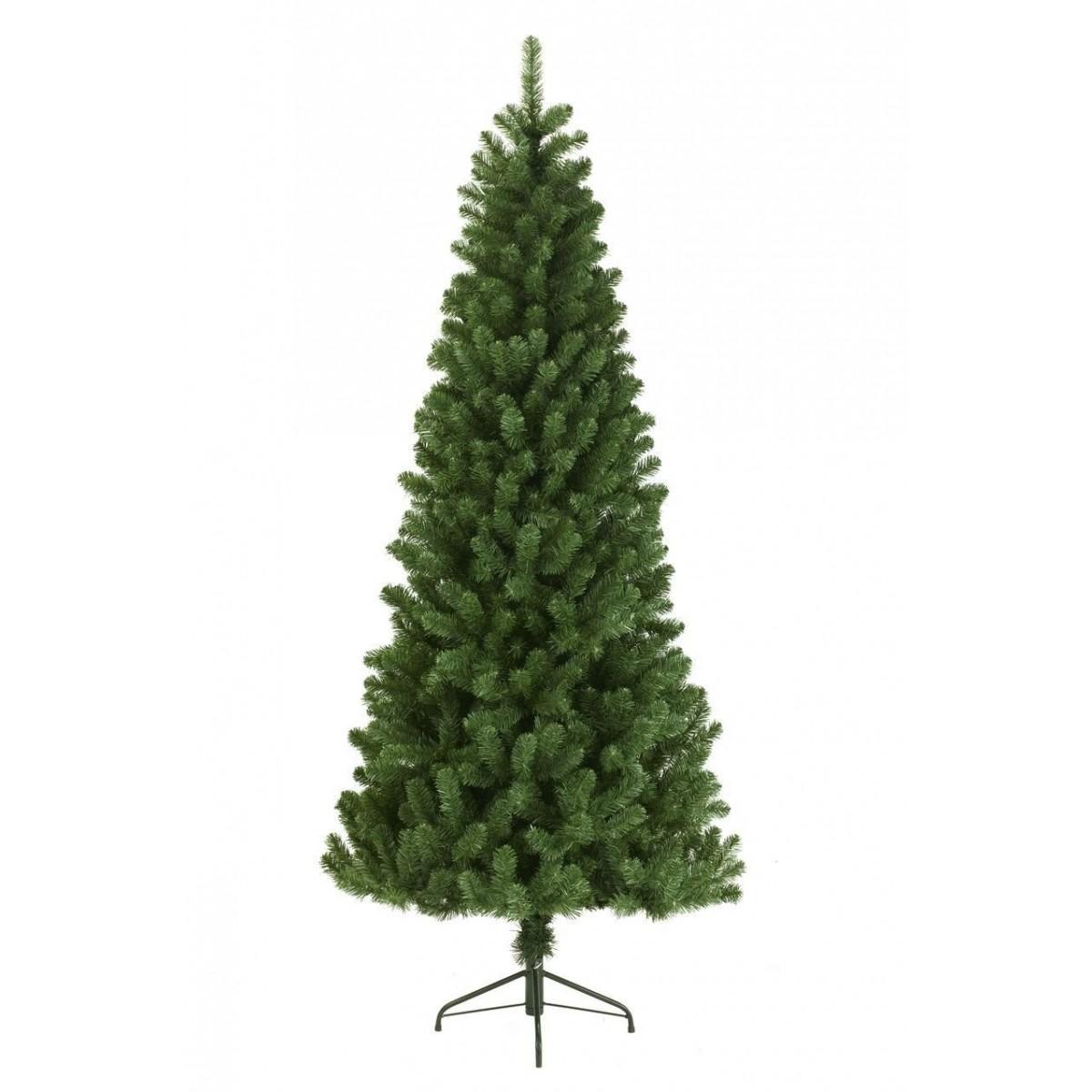 210cm/7ft Slim Newfoundland Pine Artificial Christmas Tree
