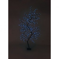 210cm/7ft Zig Zag Cherry Blossom Tree - 300 Blue LED Fairy Lights