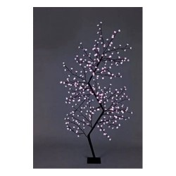 210cm/7ft Zig Zag Cherry Blossom Tree - 300 Cool White LED Fairy Lights