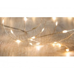 240 Warm White Micro LED Twinkle Lights
