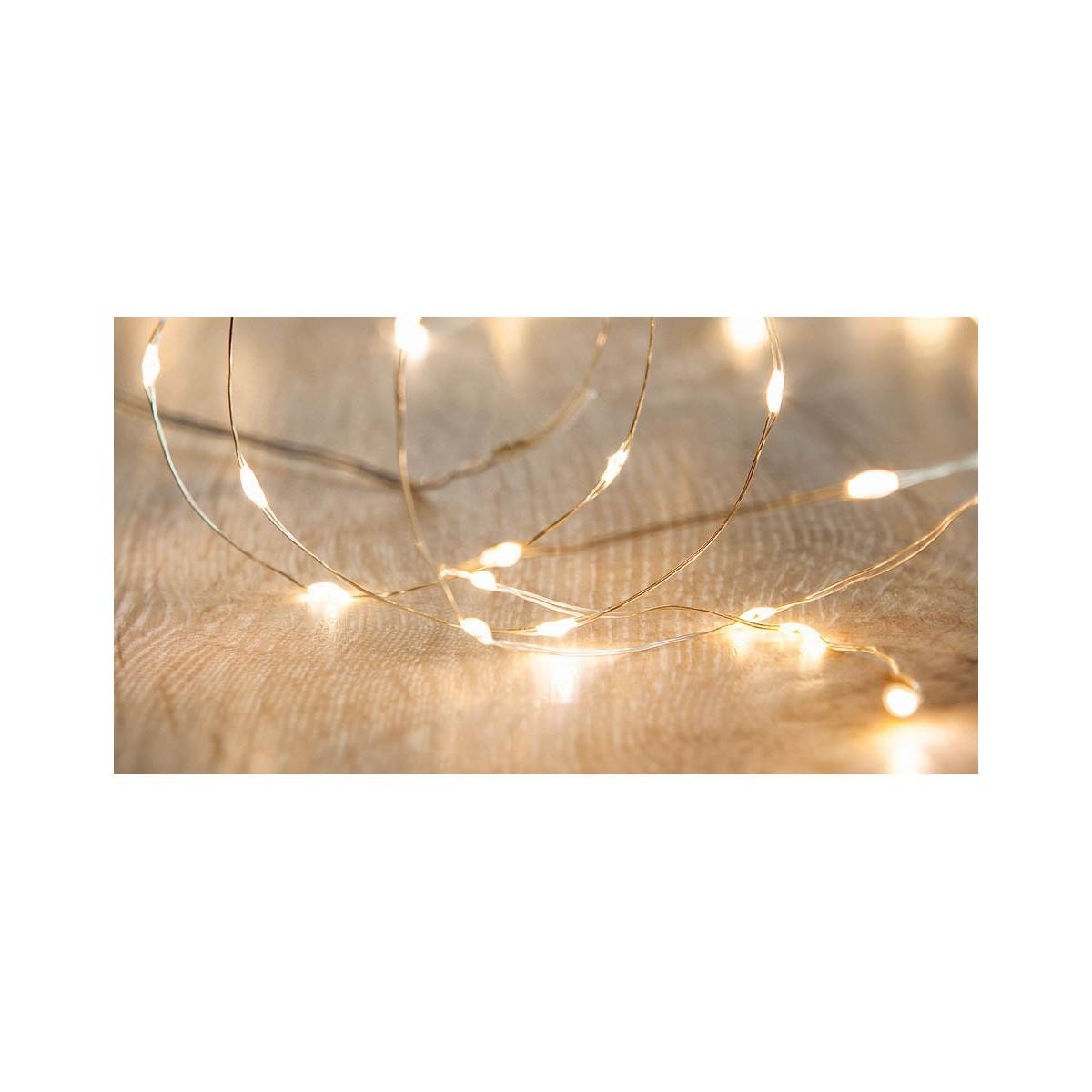 240 Warm White Micro LED Twinkle Lights