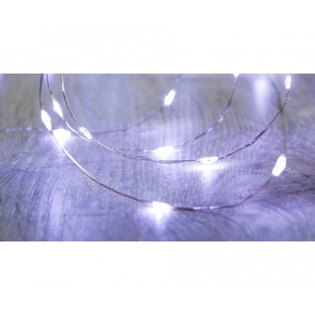 240 Cool White Micro LED Twinkle Lights