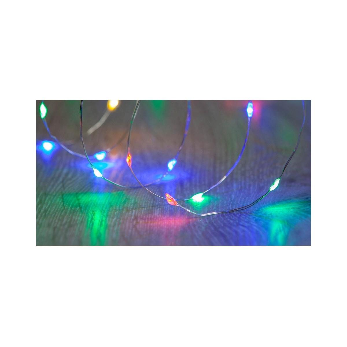 240 Multi Colour Micro LED Twinkle Lights