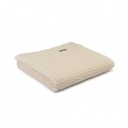 Harris - Stonewash Throw in Cream - 130x170cm