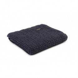 Harris - Stonewash Throw in Navy - 130x170cm