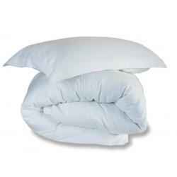Marazion Woven Duvet Cover in White - Single 135x200cm