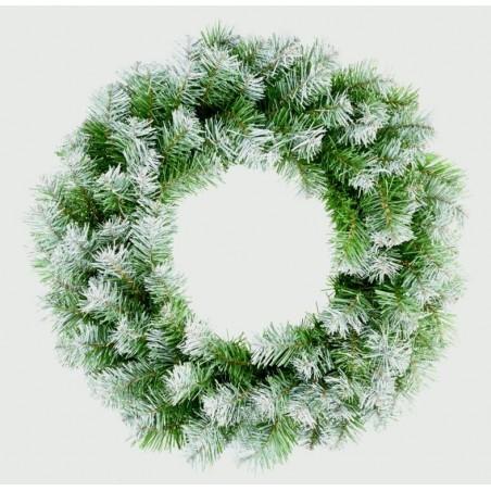 Christmas Wreath with Snow Tips (50cm)