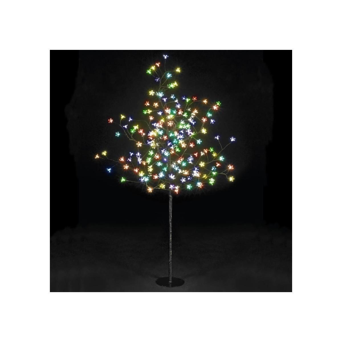 150cm/5ft Outdoor Cherry Blossom Tree - 150 Multi-colour LED Lights