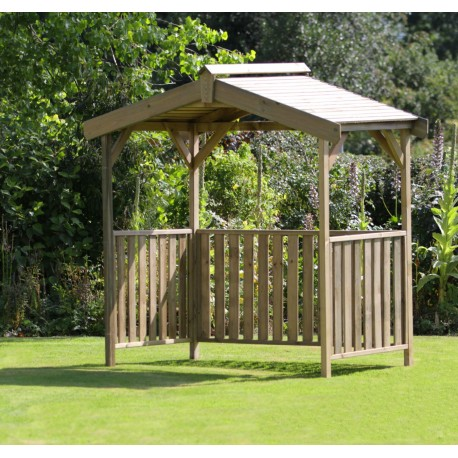 Leon Garden BBQ Shelter Pressure treated Wood