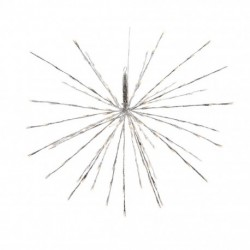 Polestar Flashing Star with 72 Warm White Led Light - 45cm