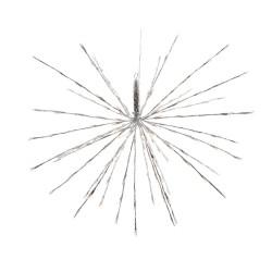 Polestar Flashing Star with 280 Warm White Led Light - 100cm