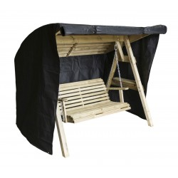 Cover for 2 Seat Wooden Garden Swing with Canopy