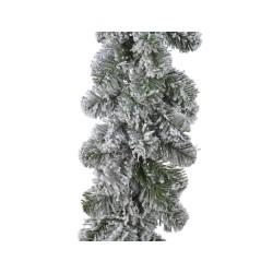 Snow Effect Christmas Garland Extra Long 2.70m