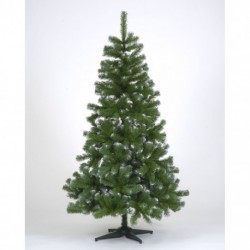 210cm/7ft Colorado Frosted Green Spruce Slim Christmas Tree
