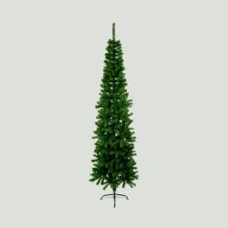 Slimline Pencil Artificial Christmas Green Spruce Pine Tree - 200cm