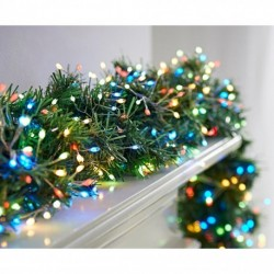 800 Multi-coloured Door Garland Cluster Micro ultra bright LED Lights with pin wire String - indoor or outdoor use