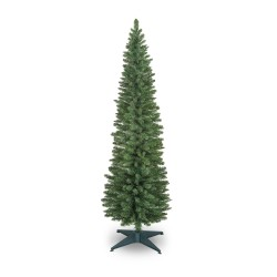 210cm/7ft Slim Pencil Christmas Pine Tree