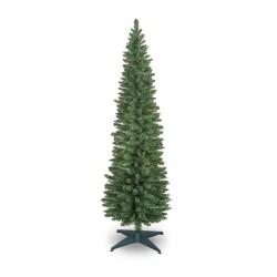 240cm/8ft Slim Pencil Christmas Pine Tree