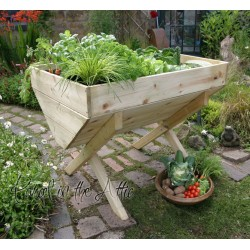 Garden Vegetable Trough - 100cm Bed