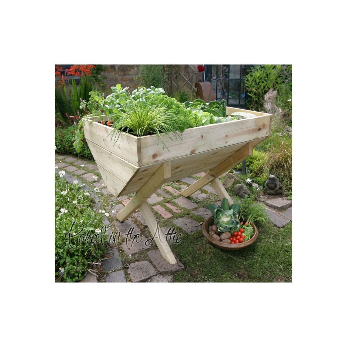 Garden Vegetable Trough - 100cm Bed