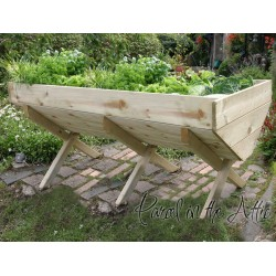 Garden Vegetable Trough - 200cm Bed