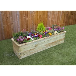 Sleeper Raised Bed 180x45x45cm