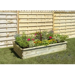 Sleeper Raised Bed 180x90x30cm