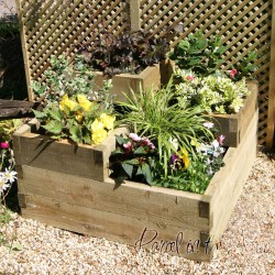 Three Tiered Raised Bed