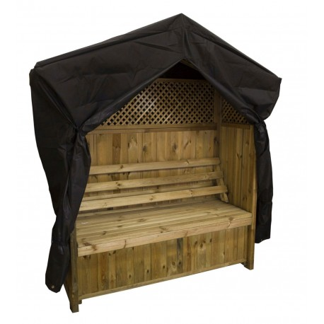 Cover for Madrid Arbour with Storage Box and Trellis