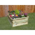 Sleeper Raised Bed 90x90x45cm