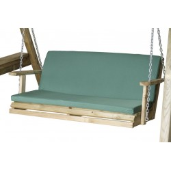 Green Seat pad for 3 seat swing