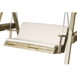 Cream Seat pad for 3 seat swing