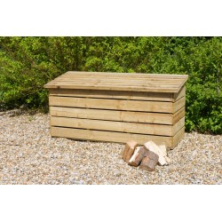 Large Log Storage Chest
