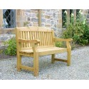 Elda Heavy Duty Solid Wood 5ft Garden Bench
