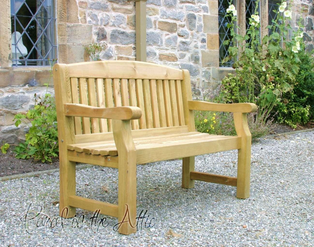 Magnificent Elda 3 Seater Heavy Duty Garden Bench Pdpeps Interior Chair Design Pdpepsorg