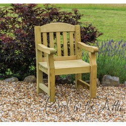 Elda Heavy Duty Solid Wood Chair