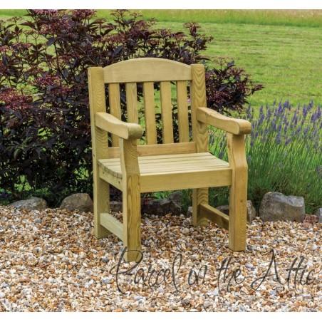 Elda Heavy Duty Solid Wood Chair