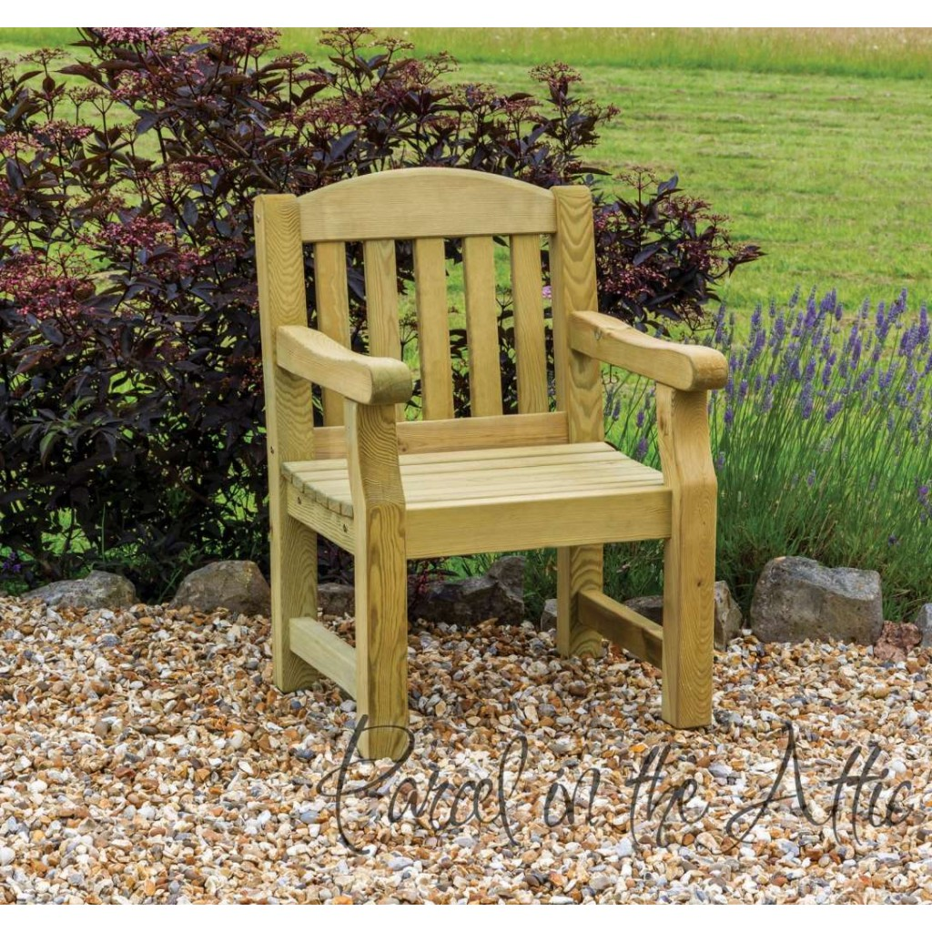 Elda Individual chair heavy duty garden bench