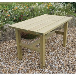 Elda Heavy Duty Solid Wood Table