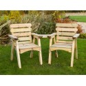 Solid Wood Companion Seat