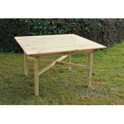 Solid Wood Square Table