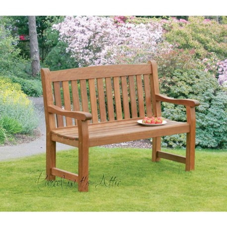 Premium 2 Seater Wooden Bench