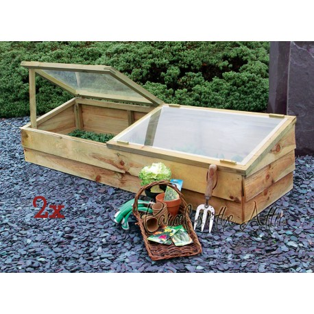 Large Wooden Cold Frame