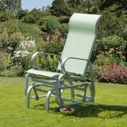 Calabria Single Glider Seat in Avocado