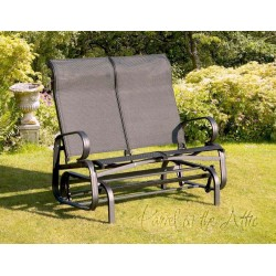 Calabria Twin Glider Seat in Black