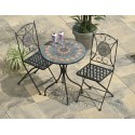 Naples Mosaic Bistro Set