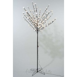 120cm/4ft Outdoor Cherry Blossom Tree - Warm White LED Fairy Lights