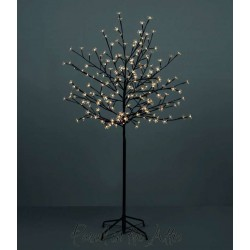 180cm/6ft Outdoor Cherry Blossom Tree - 180 Warm White LED Fairy Lights